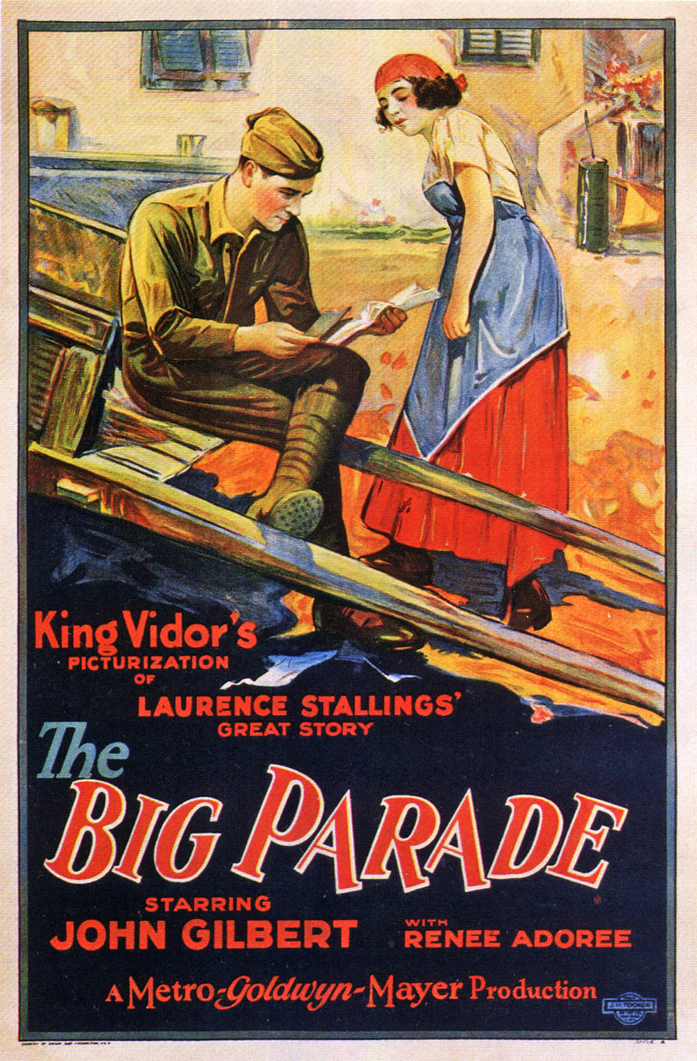 The Big Parade (1925) 🌟