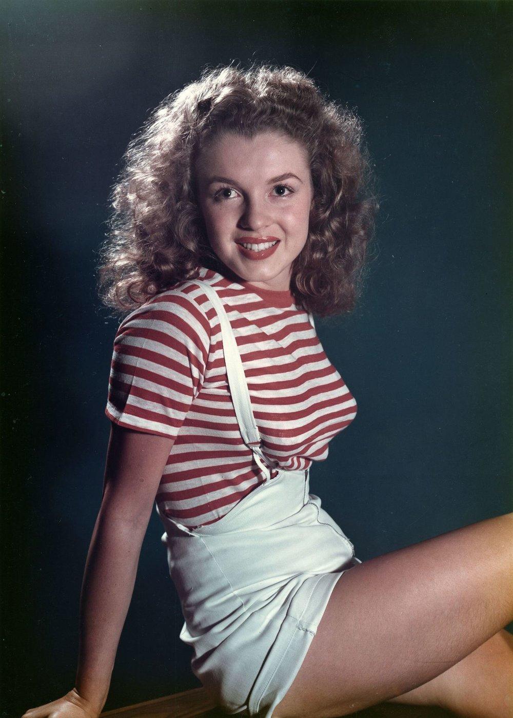 Marilyn in 1946.