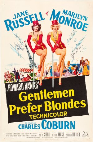 Gentlemen Prefer Blondes (1953) 📽  🌟