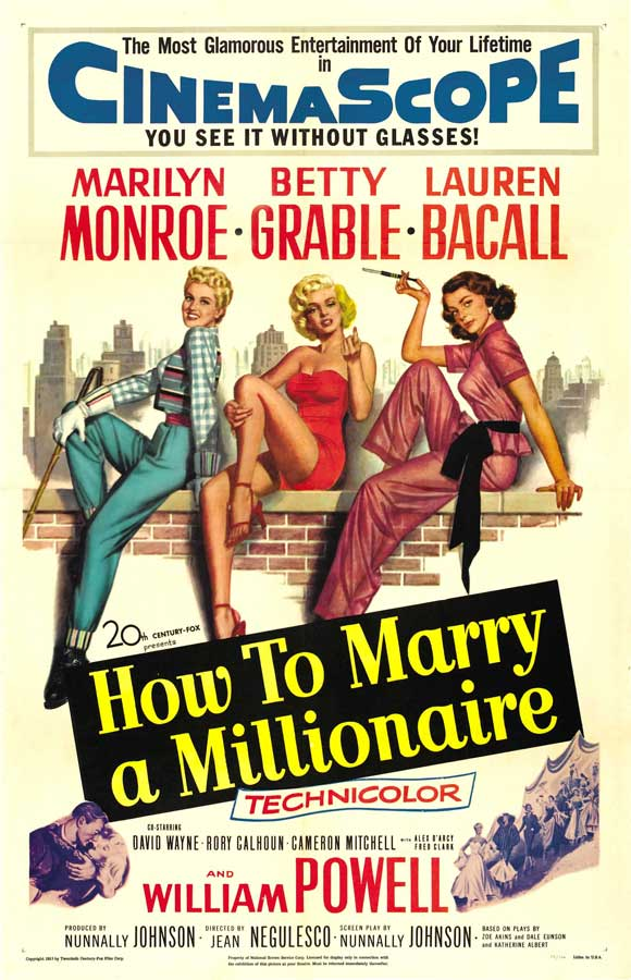 How to Marry a Millionaire (1953) 📽  🌟