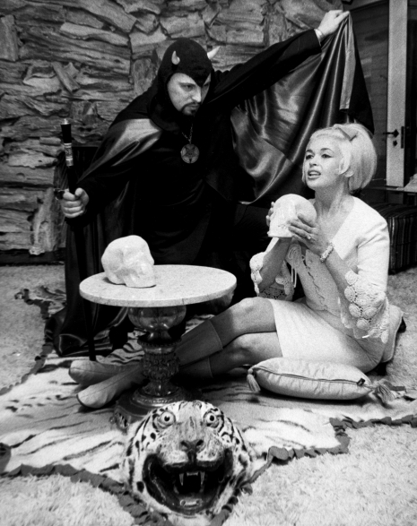 Anton Lavey and Jayne Mansfield, 1966
