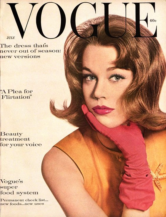 Jane Fonda on the Cover of VOGUE, July 1959