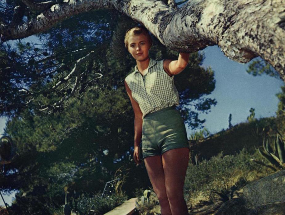 Jean Seberg in Bonjour Tristesse, 1958