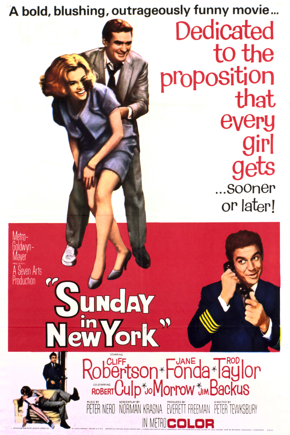 Sunday in New York (1963) 📽