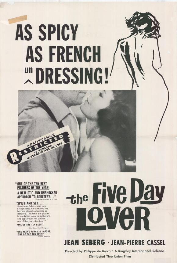 Five Day Lover (1961) 🌟