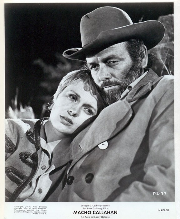 Jean Seberg and David Janssen, Macho Callahan, 1970