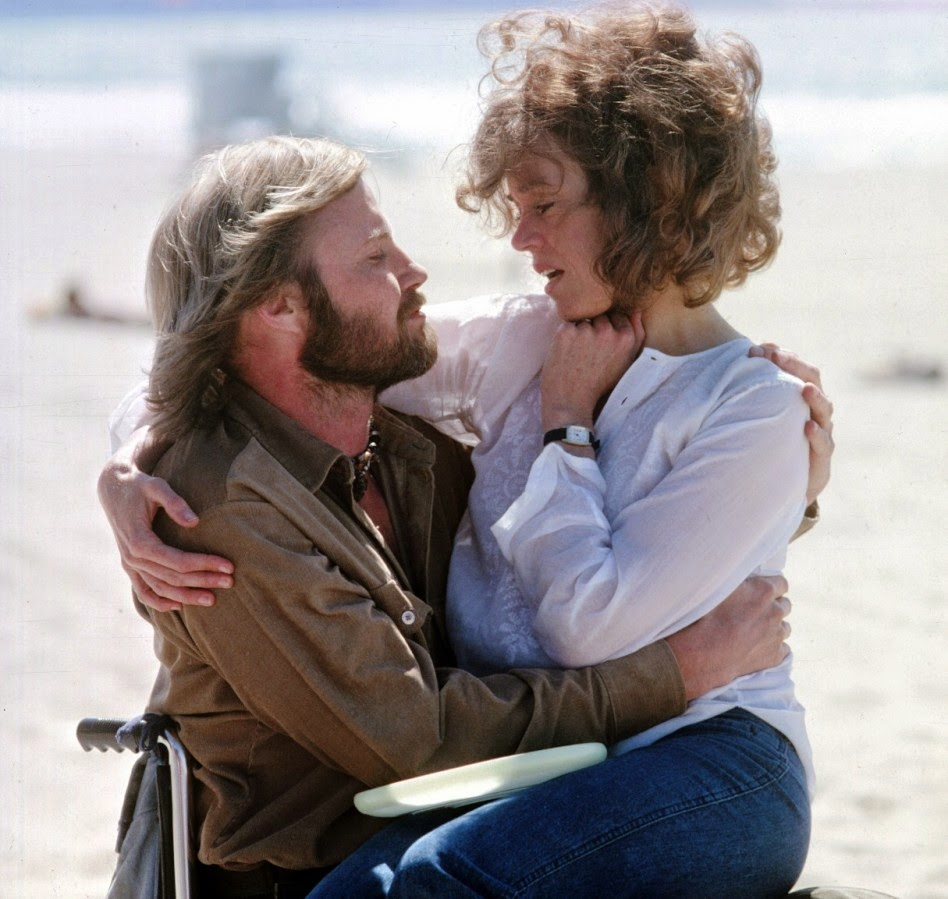 Jon Voight and Jane Fonda,  Coming Home , 1978