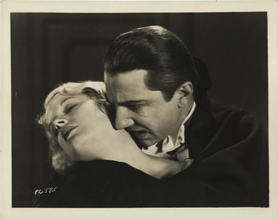 Helen Chandler and Bela Lugosi, Dracula, 1931