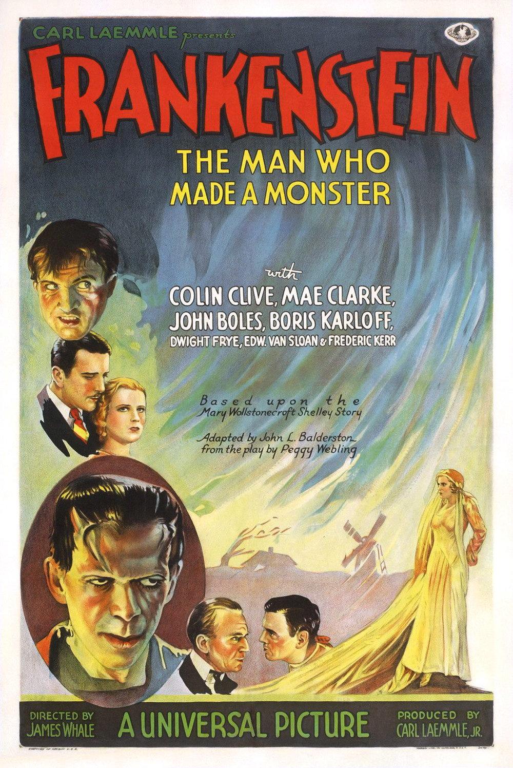 Frankenstein (1931) 📽🌟