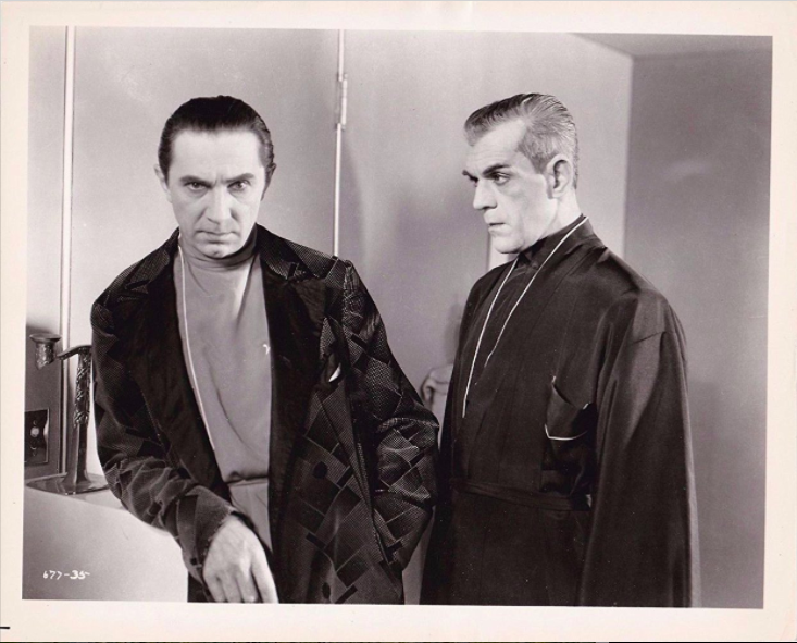 Bela Lugosi and Boris Karloff, The Black Cat, 1934