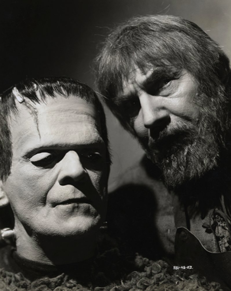 Boris Karloff and Bela Lugosi, Son of Frankenstein, 1939