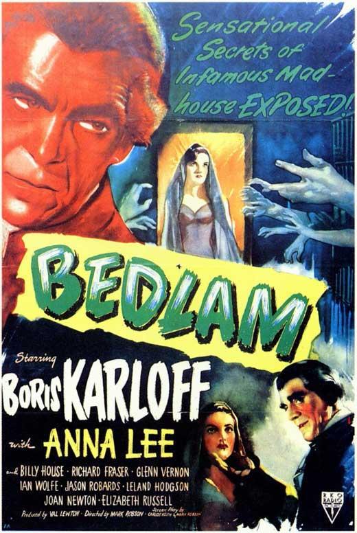 Bedlam (1946) 🌟