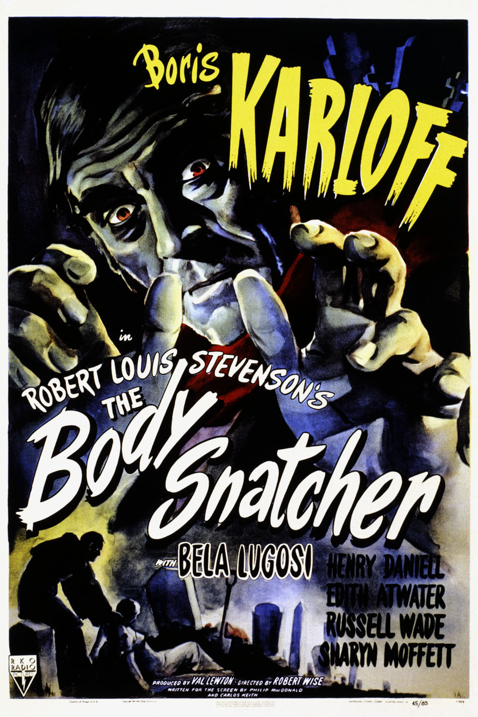 The Body Snatcher (1945) 📽