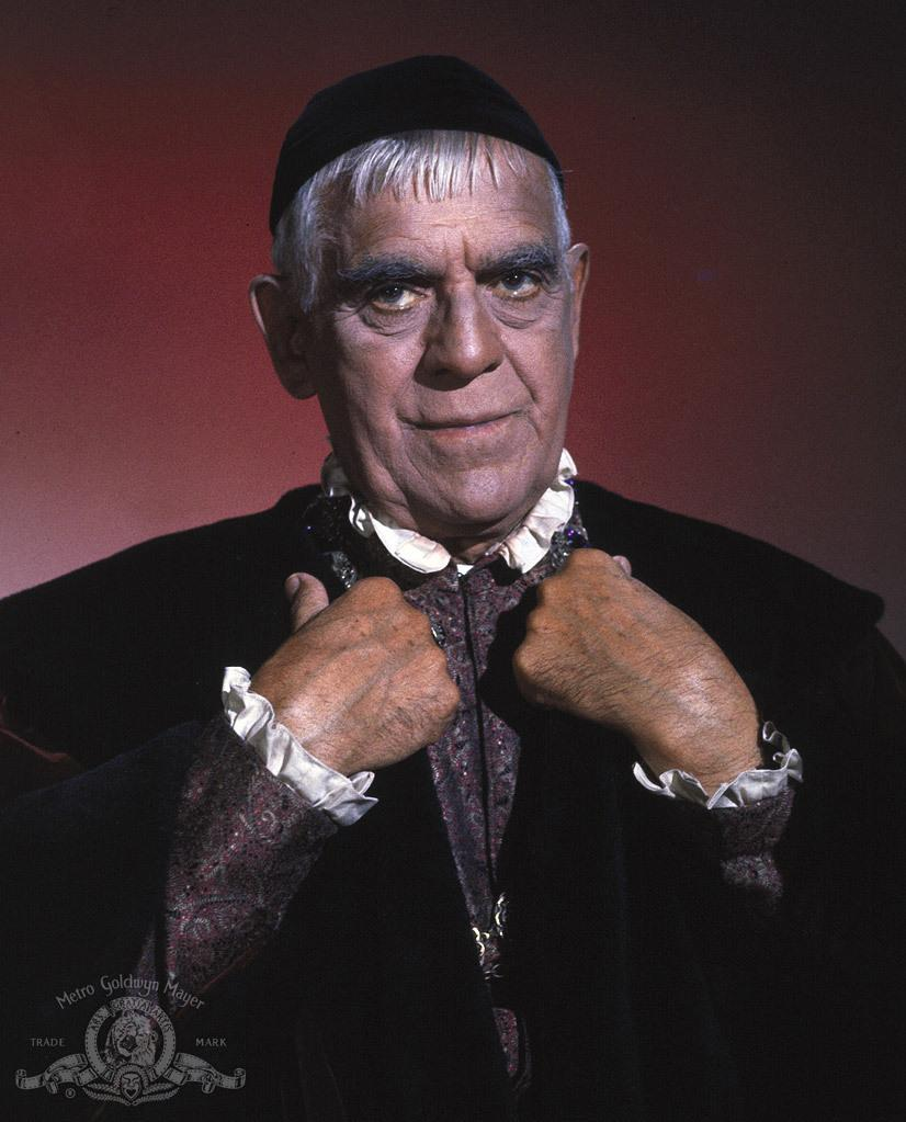 Boris Karloff in The Raven, 1963