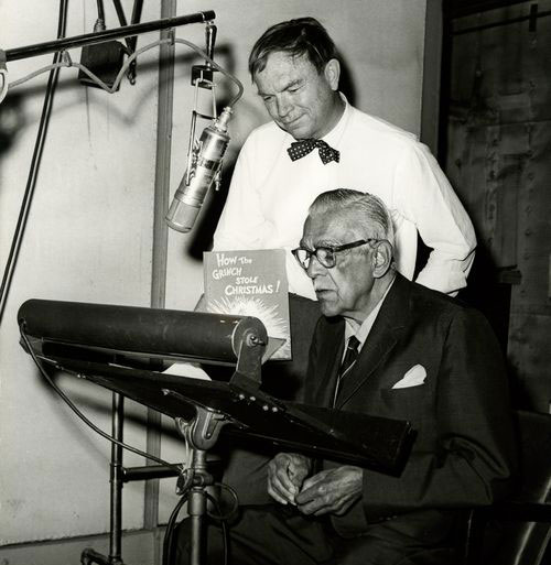 Boris Karloff recording  How the Grinch Stole Christmas, 1966