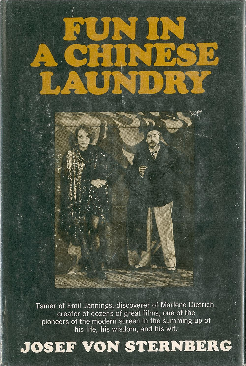 Fun in a Chinese Laundry by Josef von Sternberg