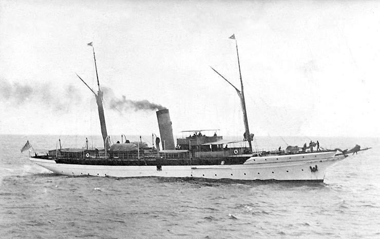 The Oneida, William Randolph Hearst's ship