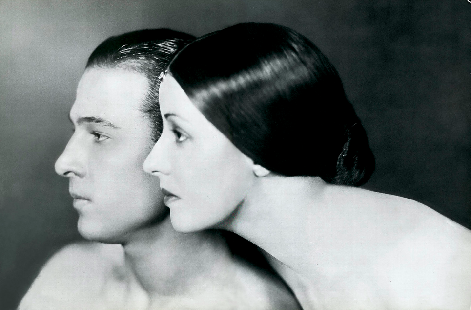 Portrait of Rudolph Valentino and Natacha Rambova, 1925