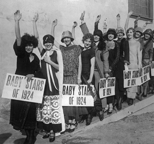 Clara Bow and the WAMPAS Baby Stars of 1924