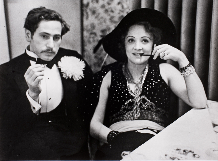 Josef von Sternberg and Marlene Dietrich in Berlin 1928
