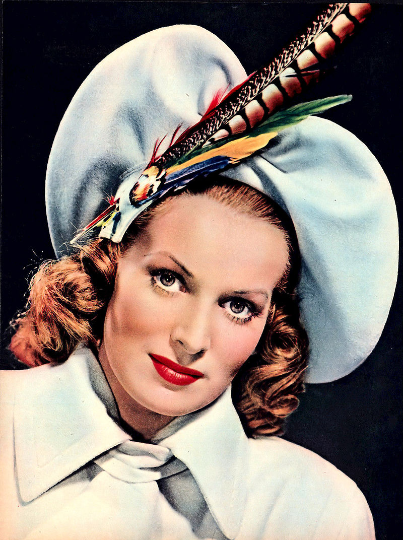Maureen O'Hara in Modern Screen Magazine, 1947