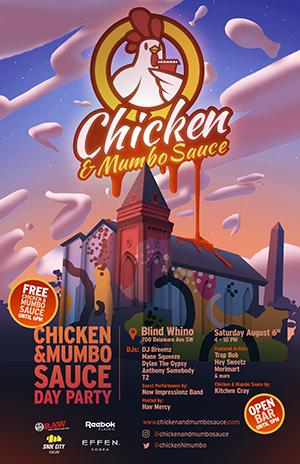 Chicken & Mumbo Sauce DC