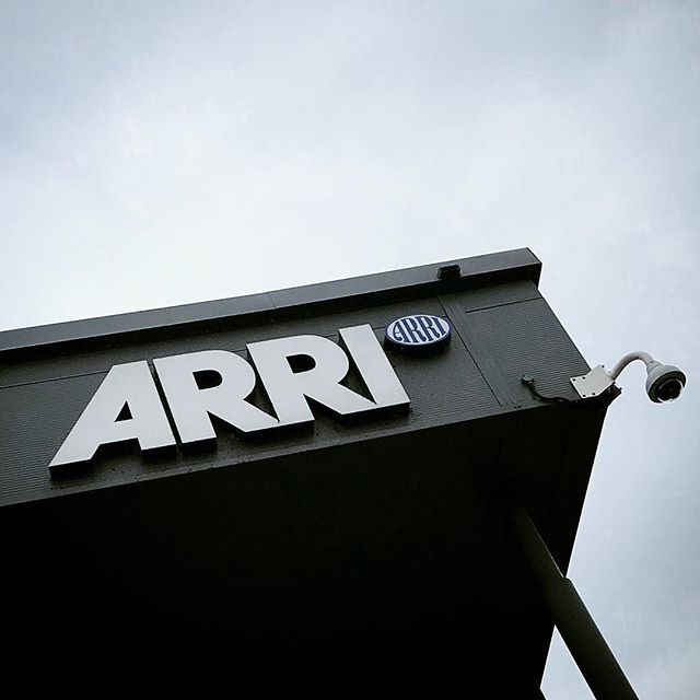 Nipped into @arri_rental today to see @pyrowill for a quick catch up and to sort a new clapper board.. #clapperboard #cameradept #cameraoperator