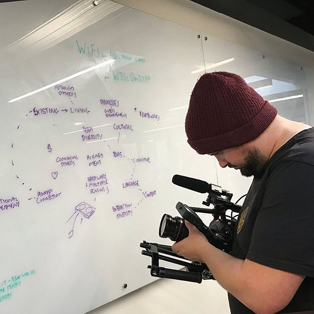 Shooting for @adobe in London at @foolproof_ux a couple of days ago for World Interaction Design Day @ixda #cameradept #cameraoperator #tired #restday