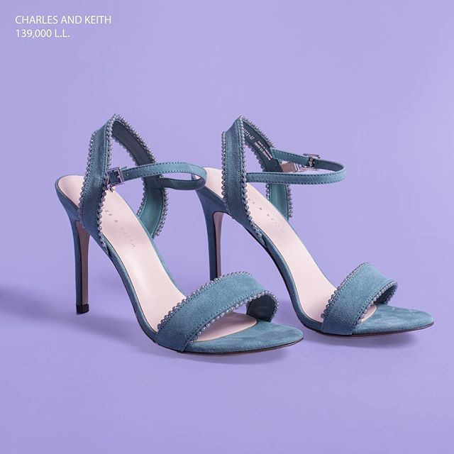 You, with your Blue Suede shoes, are going places! Get this style from any Charles & Keith store in Lebanon. (Store locator in bio)