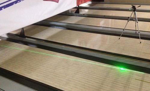 Laser setup example