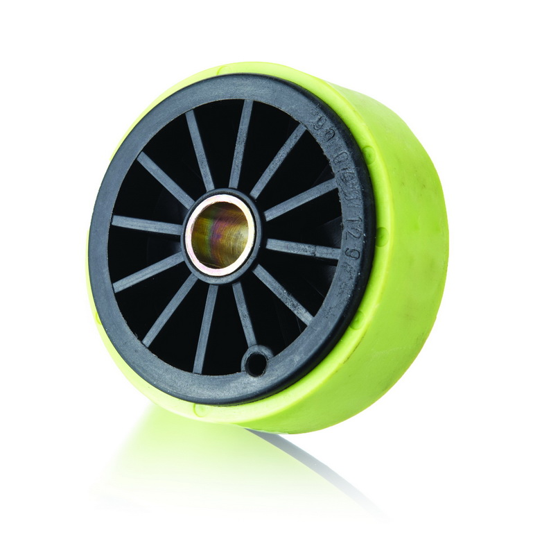 Plastic Roller with Bushing