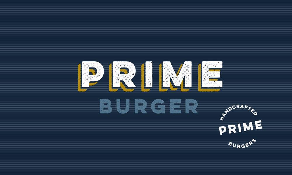 Logo Design and Brand Identity, Branding Design - Prime Burger