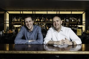 Hawksmoor's founders Huw Gott (left) and Will Beckett