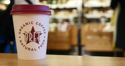 Pret a Manger has increased hot drink prices in response to the National Living Wage being rolled out.