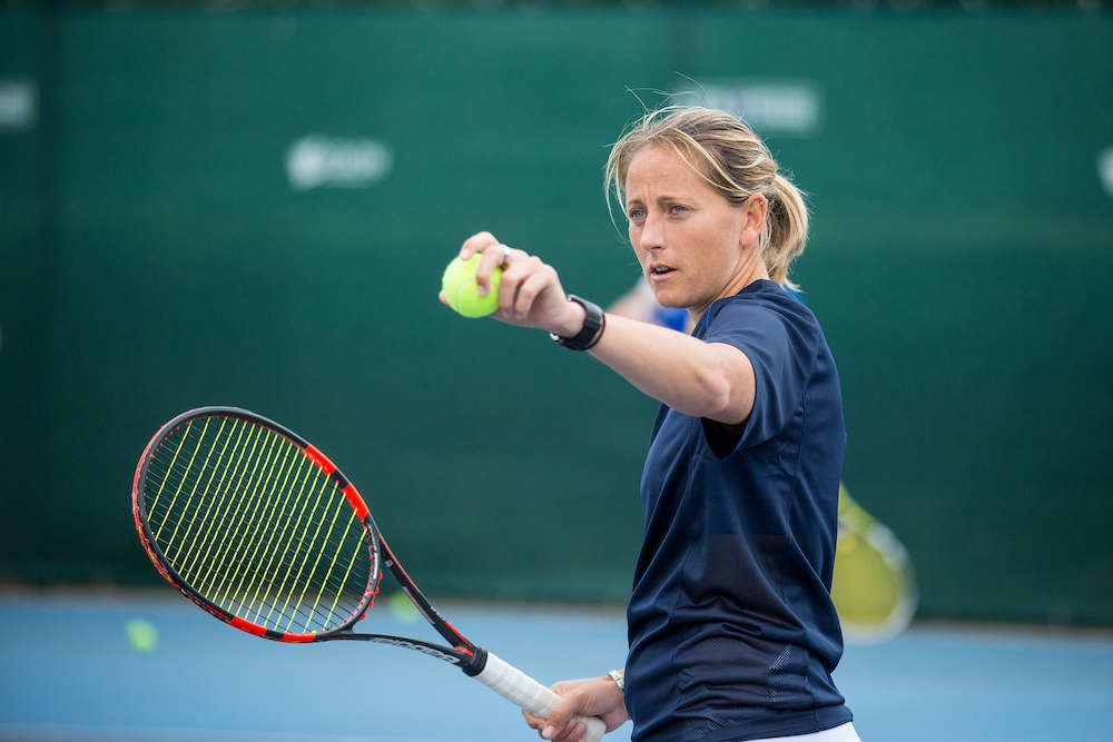 Nikki Slater - professional doubles player and experienced elite coach