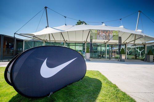 nike tennis camp facilities at the national tennis centre