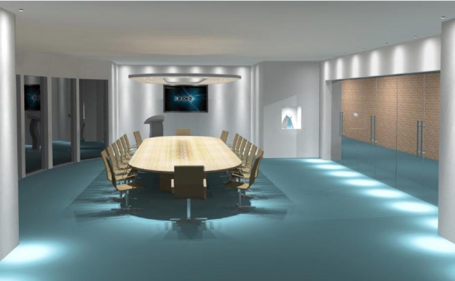 Iluminacion LED Sala Reuniones