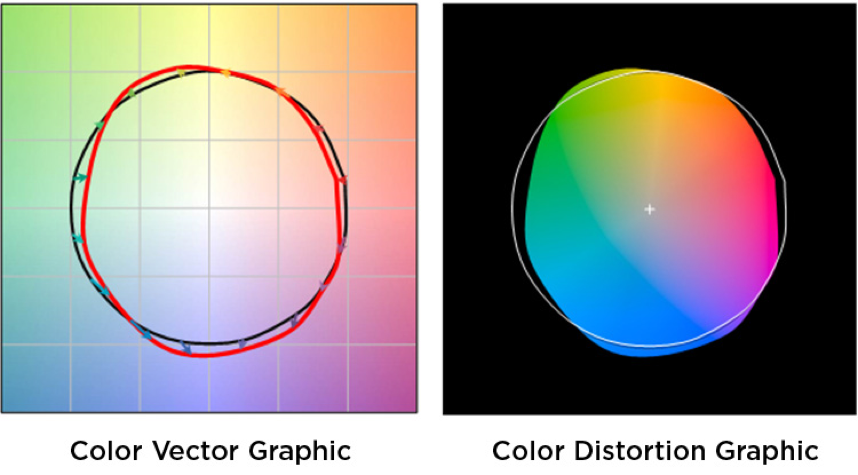 Color Vector Color Distortion