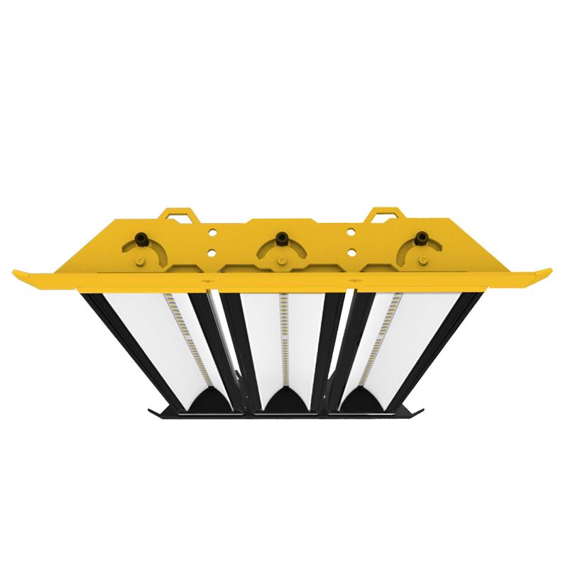 Campana LED NEXUS diseñada y fabricada por EVOLUX en Chile.