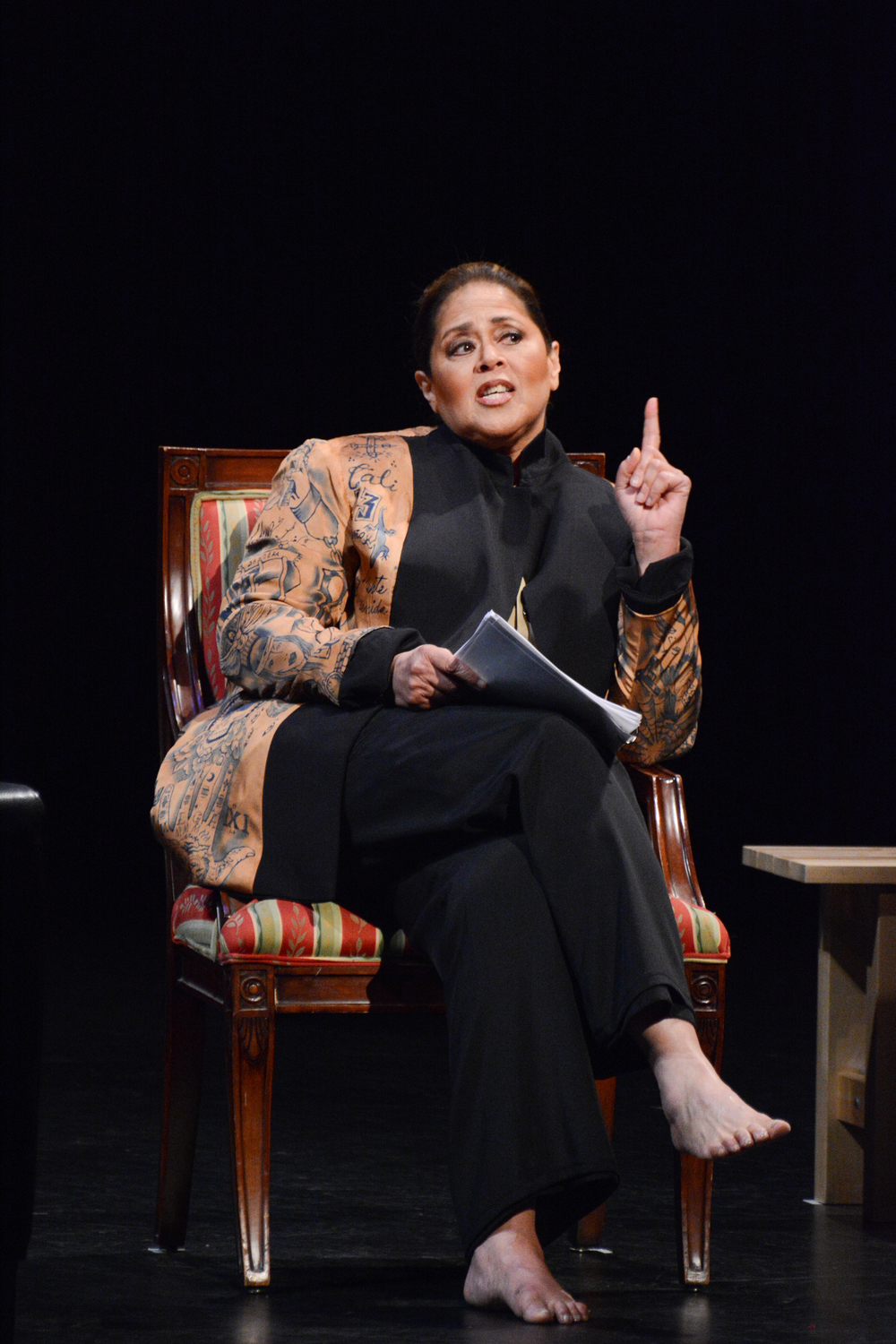 Anna Deavere Smith in  Notes from the Field: Doing Time in Education