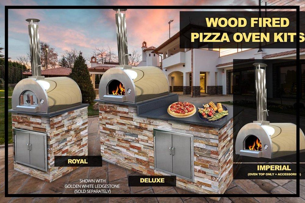 Stone Henge Pizza Oven Kit