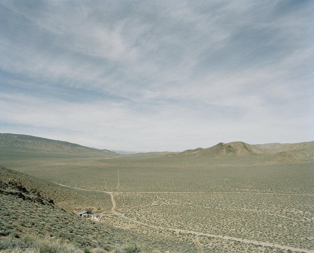 The Aguereberry Site, Panamint Range, Mojave Desert, Inyo County, California, USA