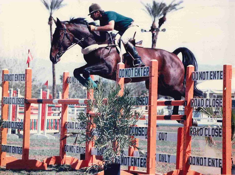 Photo 1 Ninja and Edgar Pagan owned by Susie Hutchinson is Champion 1 meter 30 Indio.jpg