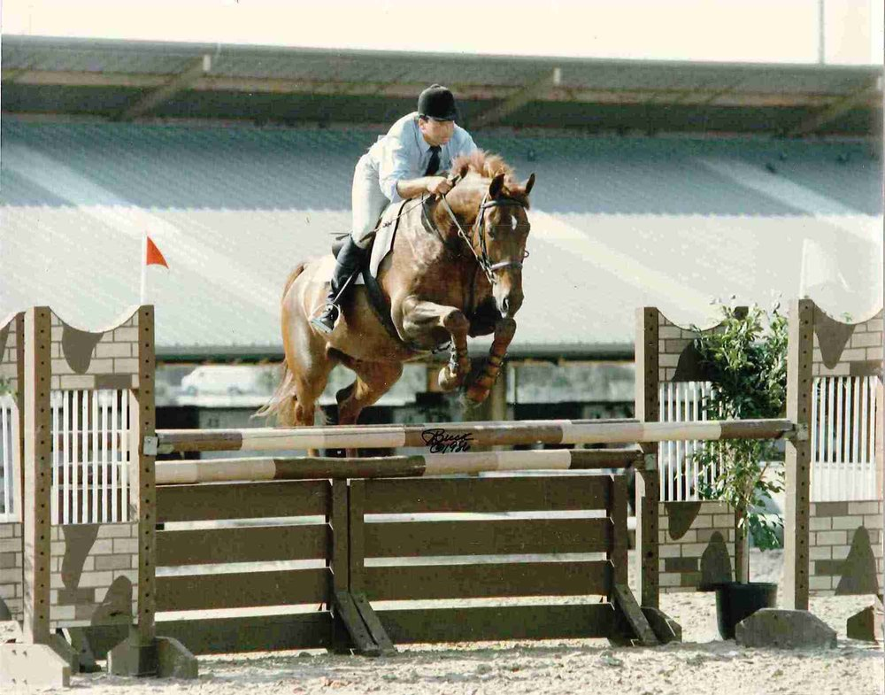 Photo 3 Gero and Edgar Pagan jumping in Tampa Florida owned by Spring Valley Farms.jpg