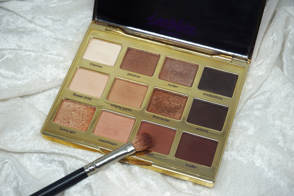 Emily Essentially | 5 Eye Shadow Palettes Every Girl Should Own | Tarte Tartelette In Bloom Palette