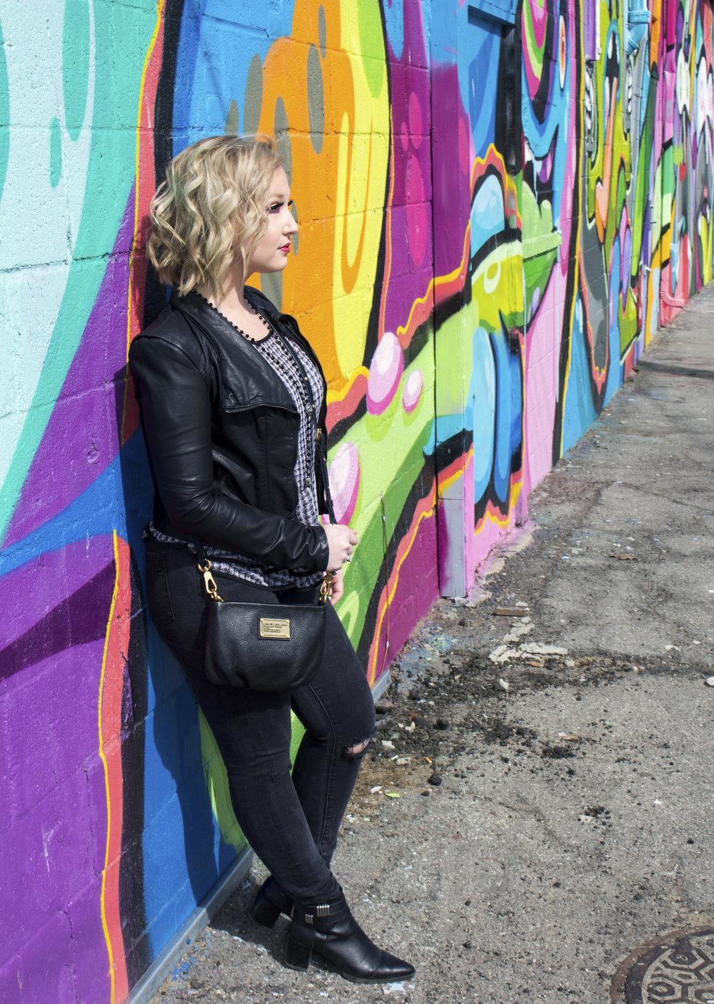 Emily Essentially | Fashion | Fall Ready: Monochromatic Black-on-Black