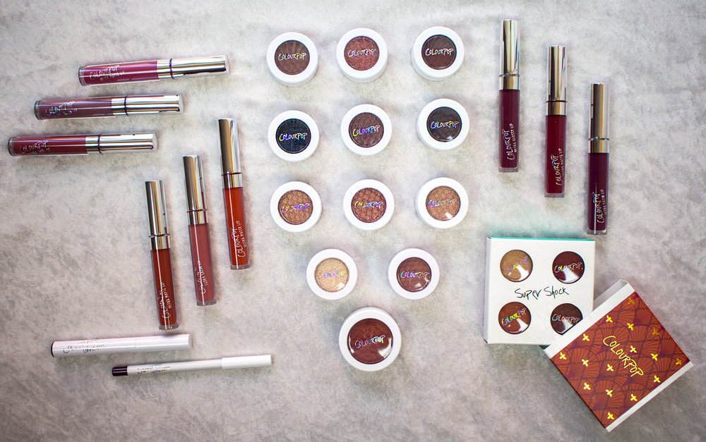 Emily Essentially | Beauty | ColourPop Fall Haul