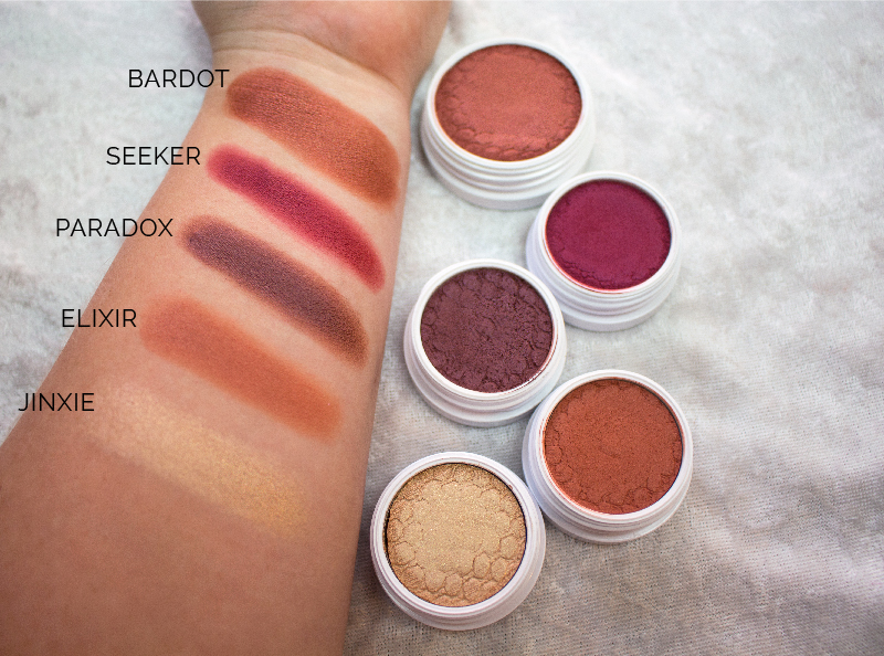 Emily Essentially | Beauty | Orange/Red Swatches