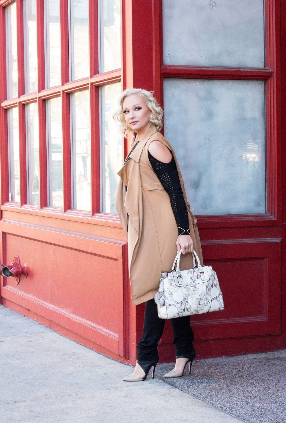 Emily Essentially | Fashion | Black & Tan: Color Block for Fall 3