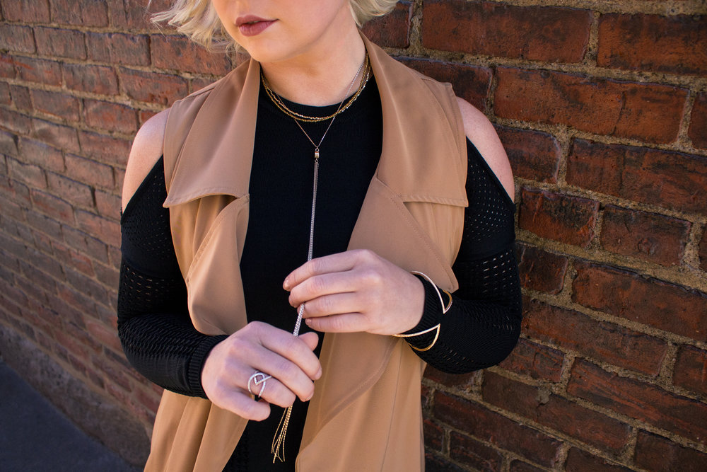 Emily Essentially | Fashion | Black & Tan: Color Block for Fall 7